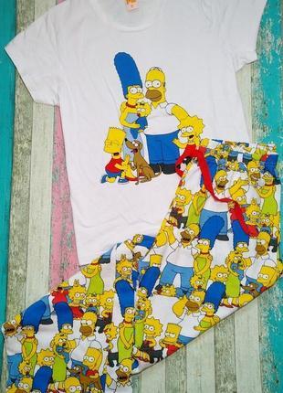 Пижама женская одежда для дома simpsons симпсоны