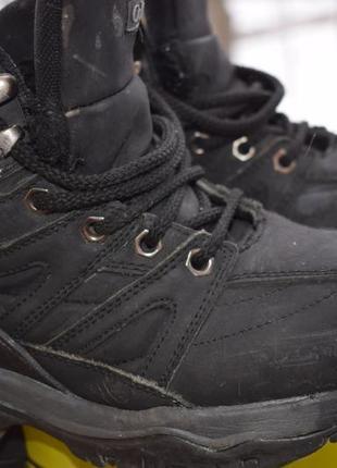 Кожаные ботинки мех внутри columbia р.36/37 23,5-23,7 см