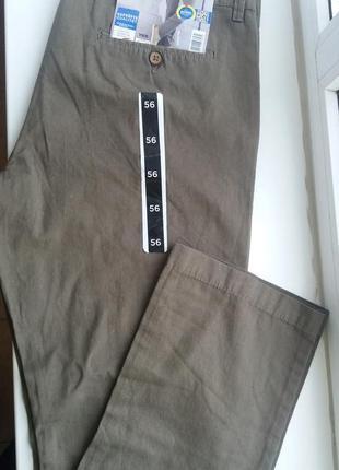 Качественные штаны брюки livergy 56 хаки