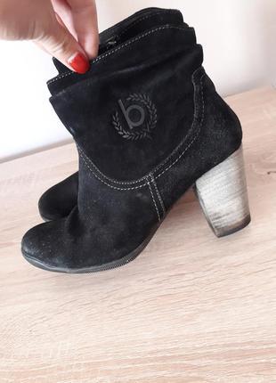 Чобітки, чоботи замшеві