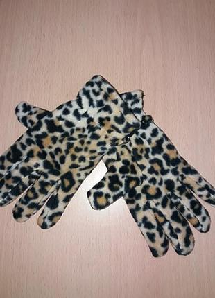 Новые перчатки двойные