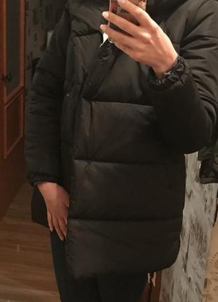 Пуховик зимняя куртка зефирка