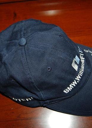 Кепка бейсболка bmw williams f1, оригинал, на окр. головы до 60 см.