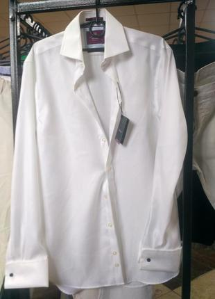 Брендовая рубашка marks & spenser