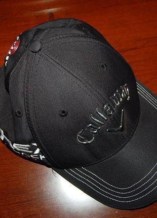 Кепка бейсболка callaway odissey xex black tour golf, оригинал, до 61 см.