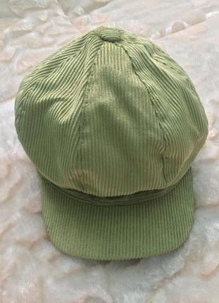 Модная стильная фуражка кепка кепи из италии