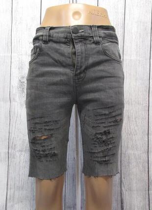 Шорты джинсовые next, skinny, 13 лет (158 см), винтаж, для девочки, отл сост!