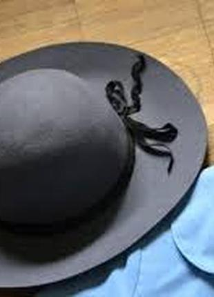 Шляпа с полями из шерсти шляпка оджи, oggi