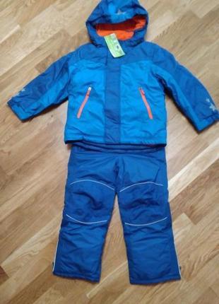 Синий термо-комбинезон от тсм-tchibo для мальчика