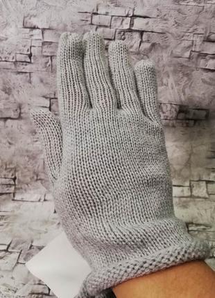 Короткие перчатки с отворотом, c&a