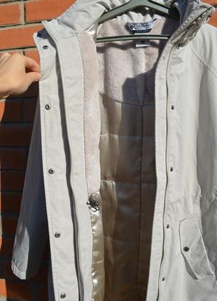 Куртка пальто демисезонная удлиненная columbia ориганал