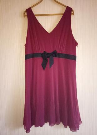 Нарядное платье 58 размера next