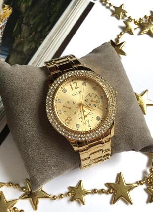 Шикарные часы guess u1097l2. оригинал!
