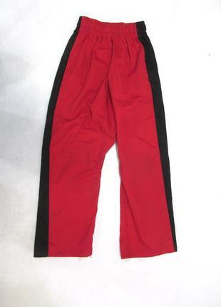 Штаны для кимоно красно черные, 6 лет, отл сост!