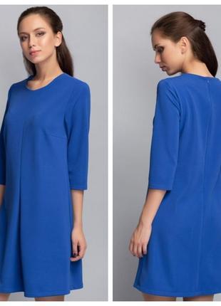 Только 10 и 11 декабря скидка!!! платье синее электрик miramod, р.наш 482