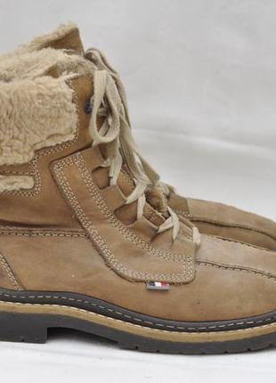Ботинки замша, зимние 40р.