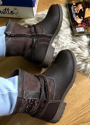 Ботинки черевики chetto (made in spain) шкіра!