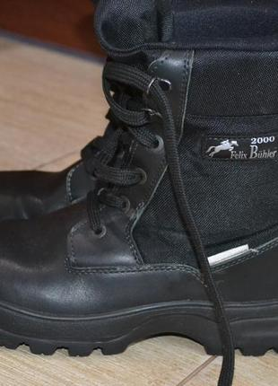 Pamir 41р ботинки кожаные, зимние берцы. мужские. тактические