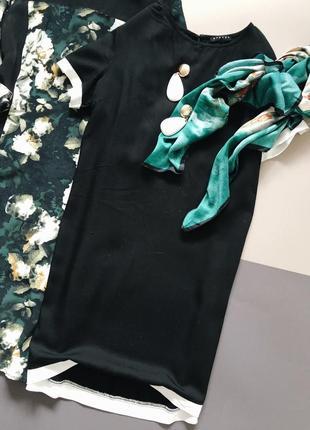 Платье прямого кроя sisley