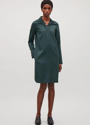Распродажа!!!р 36 cos платье шерсть