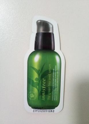 Сыворотка для лица с экстрактом масла семян зелёного чая от innisfree
