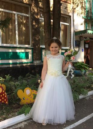 Шикарное выпускное, вечернее, праздничное платье