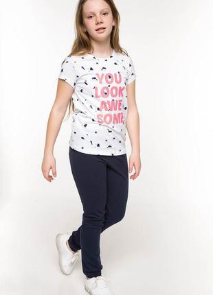 2-8 детские штаны defacto рост 146 152 156 спортивные штаны на девочку