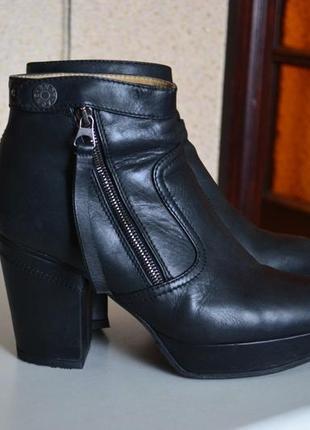 Acne studious ботильоны ботинки кожаные оригинал