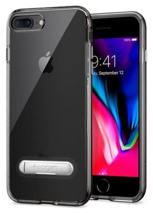 Оригинальный чехол spigen crystal hybrid для iphone 7 8  и plus