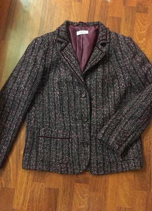 Вязаный,трикотаж.кардиган,кофта,жакет,пиджак, рюши в стиле шанель ... 0cf5291dff5