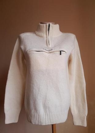 Потрясающий свитер шерсть jp femme