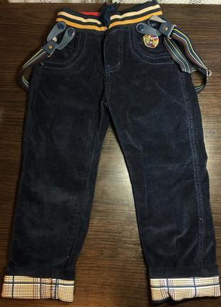 Брюки вельветовые штаны для мальчиков