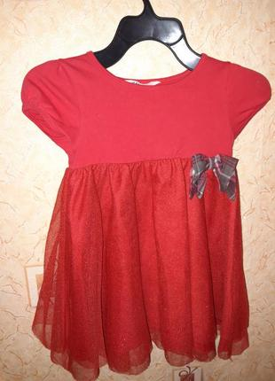 Платье h&m 4-6 лет