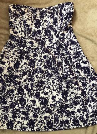 Платье-бюстье f&f! 🎁в подарок бюст-бра 🎁