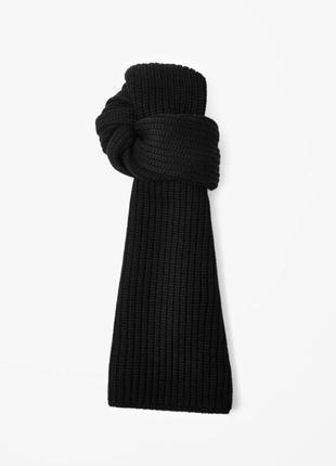 Новый шарф cos 100% шерсть