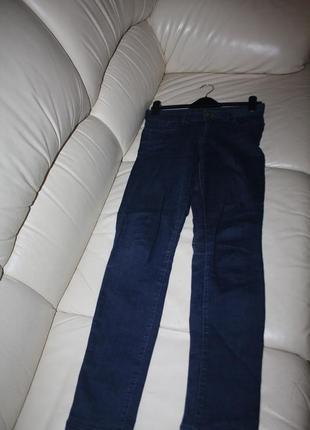 Джегинсы, джинсы темно синие