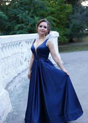 Вечернее платье для нежной девушке