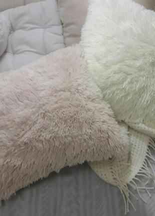 Комплект наволочки на подушки пушистые