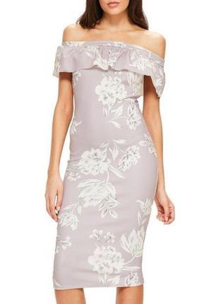 Шикарное миди платье