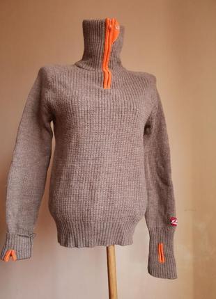 Классный свитер шерсть ulvang