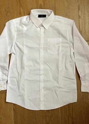 Школьная рубашка next на рост 140 см