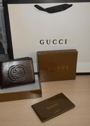 Мужской кошелек, портмоне, бумажник кожа, италия