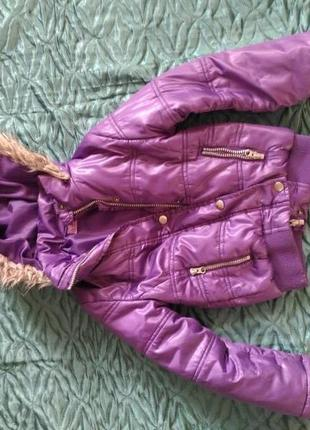 Теплая куртка, зима