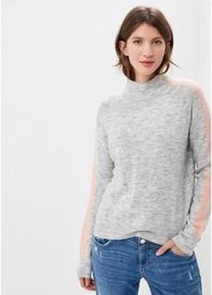 Прекрасный базовый свитер кашемир и шерсть