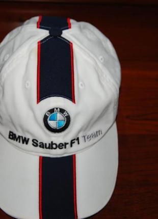 Кепка бейсболка bmw sauber f1 team, оригинал , на окр головы до 60 см.