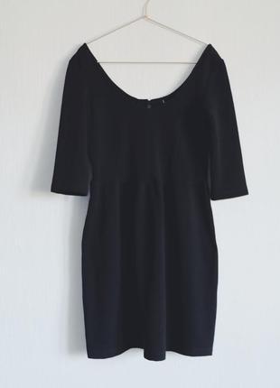 Чорне плаття bershka