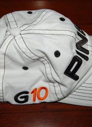 Фирменная кепка бейсболка ping g10 golf, оригинал, на окр. головы до 61 см.