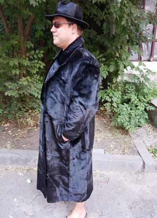 Шуба пальто натуральная новая(дизайнерская )