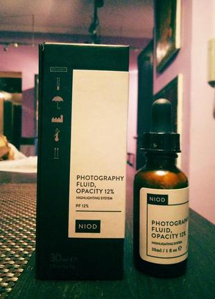 Deciem niod/the ordinary photography opacity 12%