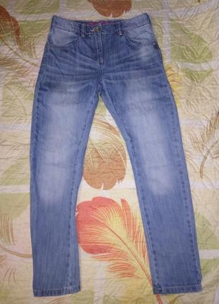 Классные зауженные джинсы 146 - 152